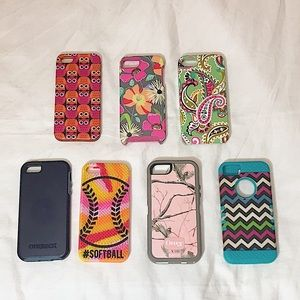Bundle of iPhone 5 cases